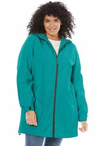 Long Plus Size Rain Jackets