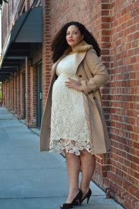 Maternity Coat Plus Size