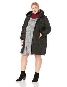 Maternity Plus Size Puffer Coat