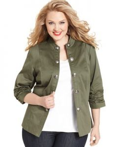 Military Jackets Plus Size