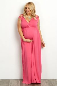 Nursing Formal Gown In Plus Size