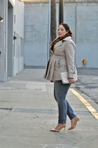 Over Sized Maternity Coat