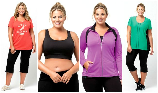 Plus Size Exercise Clothes