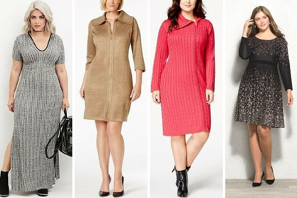 Plus Size Knitted Dresses