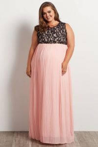 Plus Size Maternity Formal Dress & Gown