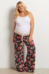 Plus Size Maternity Pajamas
