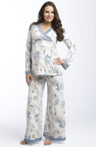 Plus Size Nursing Pajamas & Sleepwear