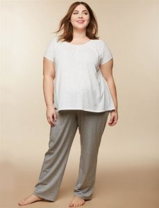 Plus Size Nursing Swing Pajamas