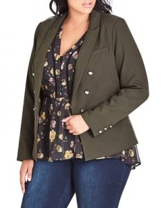 Plus Sized Military Jackets