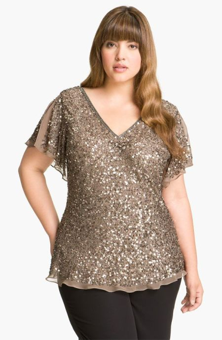 Plus Size Dressy Tops For Wedding | Attire Plus Size