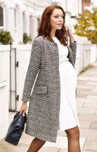 Women Maternity Coat Plus Size