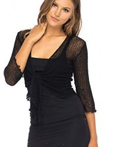 Women's Plus Size Lace Shrugs