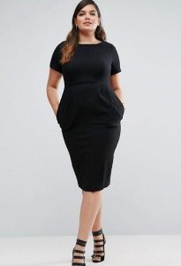 Black Business Dress 5X