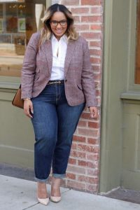 Casual Work Outfits In Plus Size