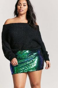 Extra Large Sequin Skirt