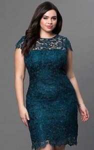 Lace Cocktail Dresses 5X