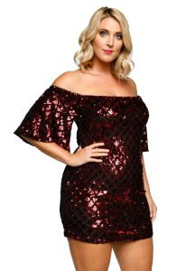 Off Shoulder Bodycon Dress 5X