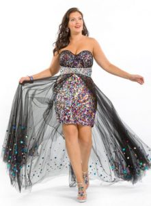Over Sized Sequin Dress Cocktail