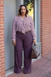 Plus Size Casual Business Outfit