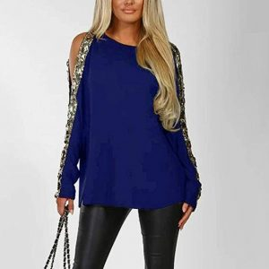 Plus Size Elegant Evening Tops