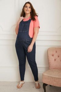 Plus Size Maternity Dungarees