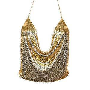 Plus Size Sequin Halter Top