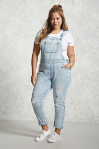 Plus Sized Dungarees