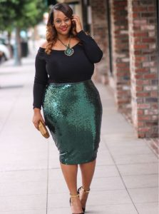 Sequin Skirt For Women