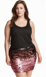 Sequin Skirts 5X