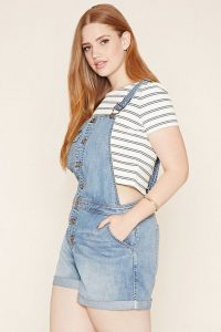 Shorts Dungaree In XL