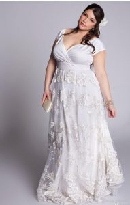 Wedding Lace Dress For Oversized