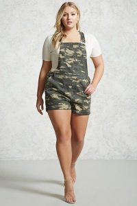 Women's Plus Size Dungarees
