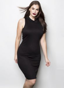 All Black Plus Size Black Club Dresses