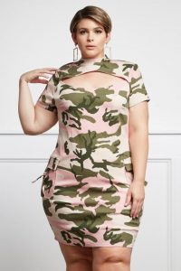 Camo Dress Plus Size