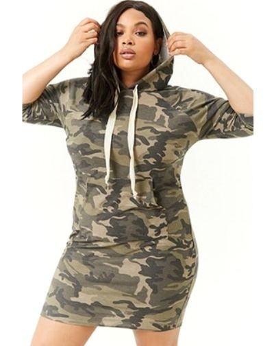 Plus Size Camo Dress | Plus Size Camouflage Dresses