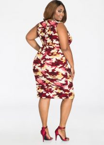 Cheap Plus Size Camo Dresses
