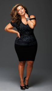 Club Dresses Plus Size Black