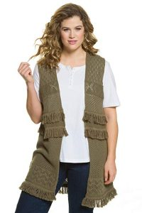 Crochet Vest Plus Size