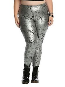 Extra Large Metallic Leggings