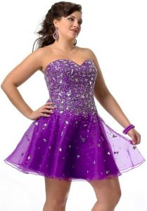 Homecoming Dress For Plus Size