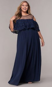 Long Homecoming Dress Plus Size