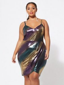 Metallic Tank Dress 5X