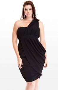 Plus Size Black Club Dresses
