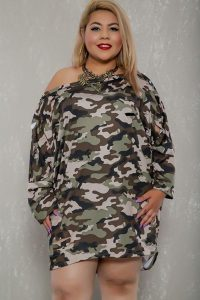 Plus Size Camo Dress Pictures