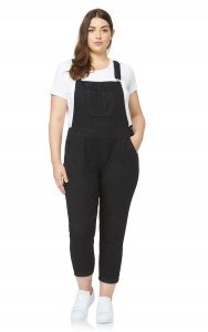 Plus Size Denim Dungarees