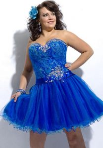 Plus Size Homecoming Dress