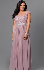 Plus Size Homecoming Gown