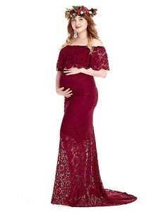 Plus Size Maternity Gowns for Photo