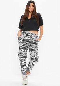Women's Plus Size Camo Pants