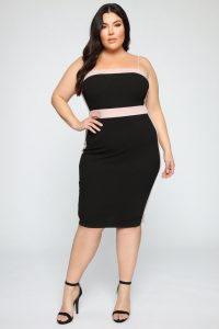 Black Plus Size Night Out Dresses